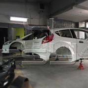 FIESTA WRC 2014 design LIGHTWEIGHT BODY KIT PROTOTYPE