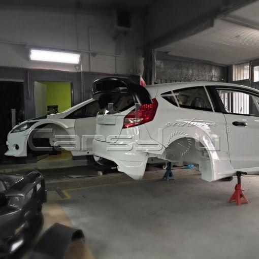 FORD FIESTA WRC 2014 Prototype
